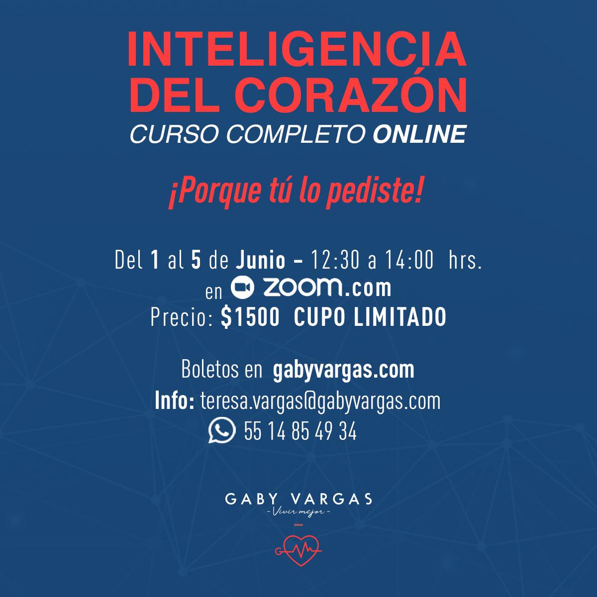 Curso INTELIGENCIA DEL CORAZÓN Online